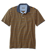 Signature Polo Shirt, Short-Sleeve, Stripe