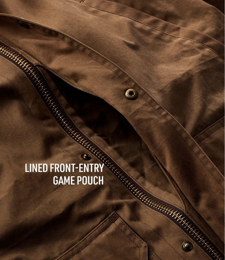 Men's Double L Waxed-Cotton Upland Coat