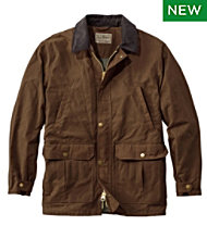 Double L Waxed-Cotton Upland Coat
