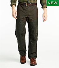 Double L Waxed-Cotton Upland Briar Pants
