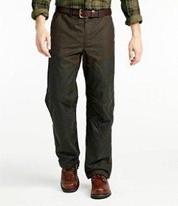 Men's Double L Waxed-Cotton Upland Briar Pants