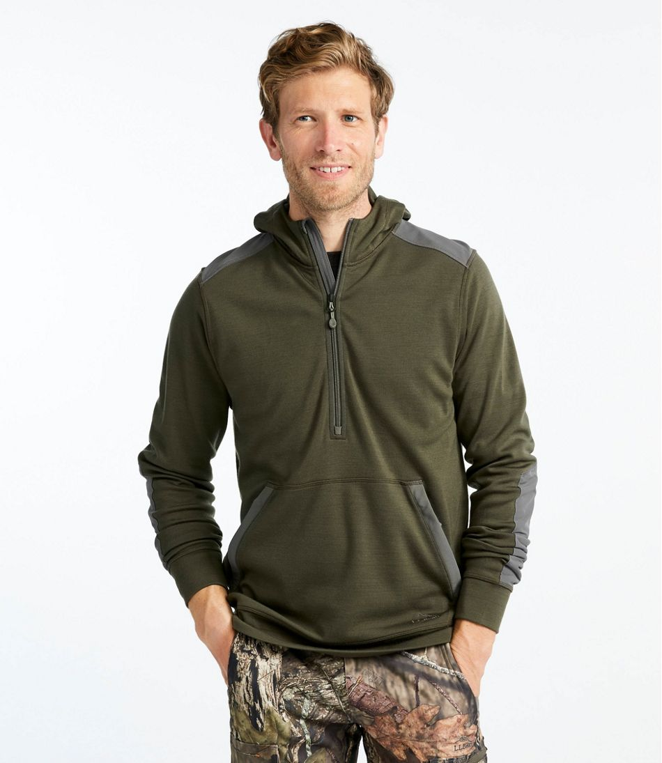 Men's Ridge Runner Merino Wool Hoodie