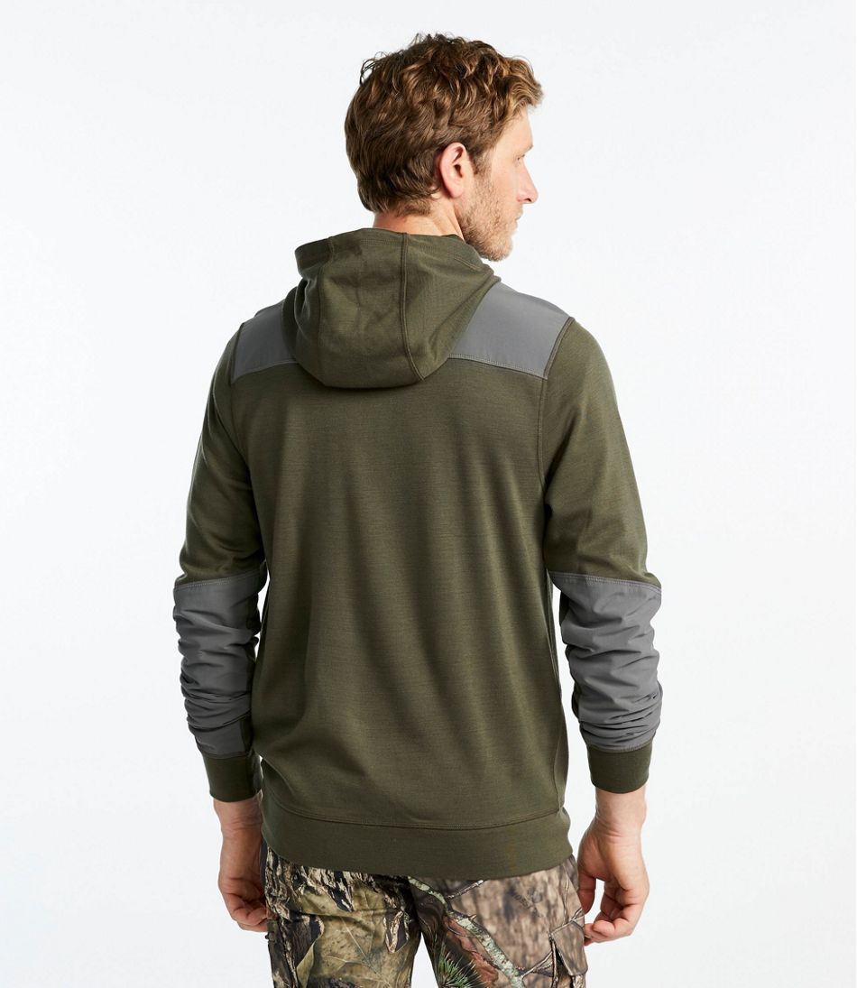 Men's Ridge Runner Merino Wool Hoodie