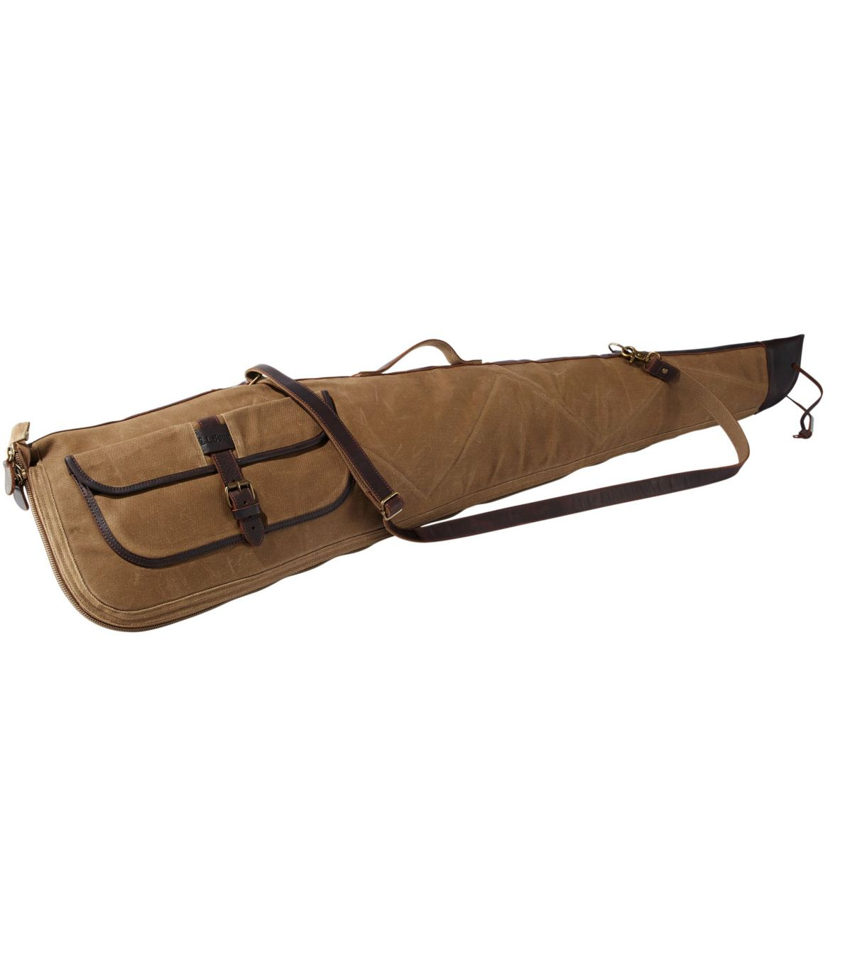Double L Waxed-Cotton Shotgun Case
