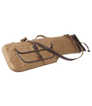 Double L Waxed-Cotton Breakdown Shotgun Case, 28""