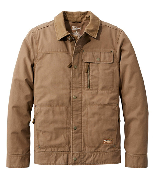 Bean's Utility Jacket, Maple Brown, large image number 0