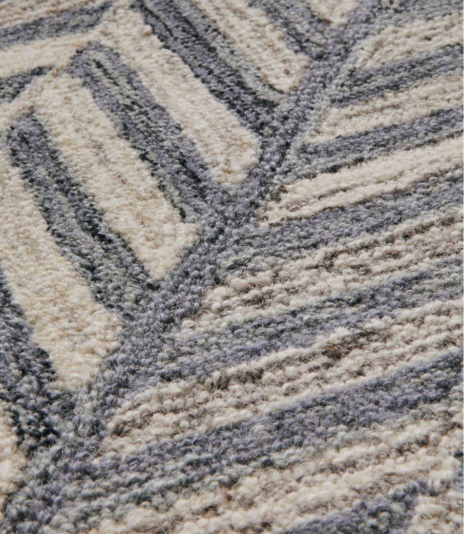 Cortland Wool Hooked Rug, Gray
