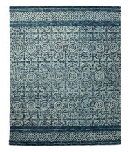 Avanti Wool Tufted Rug, Chambray