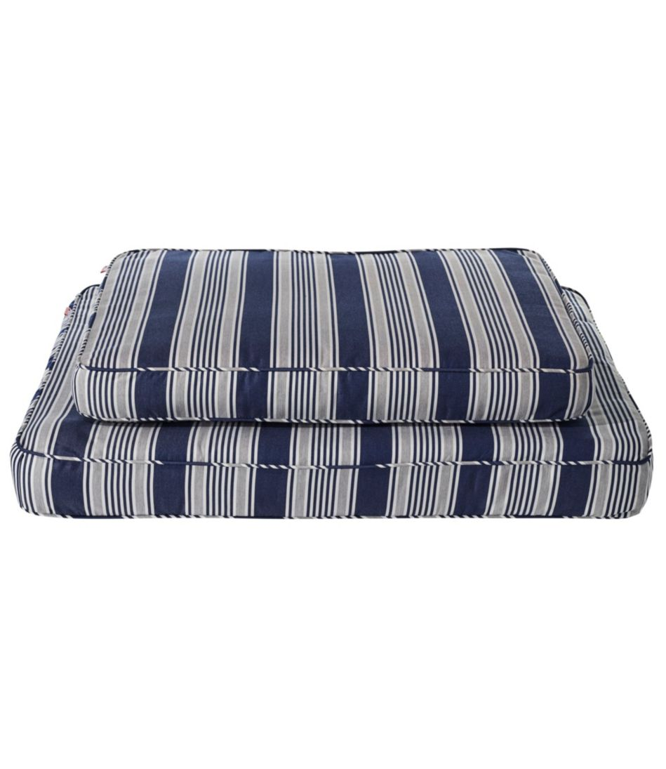 Sunbrella Dog Bed, Stripe