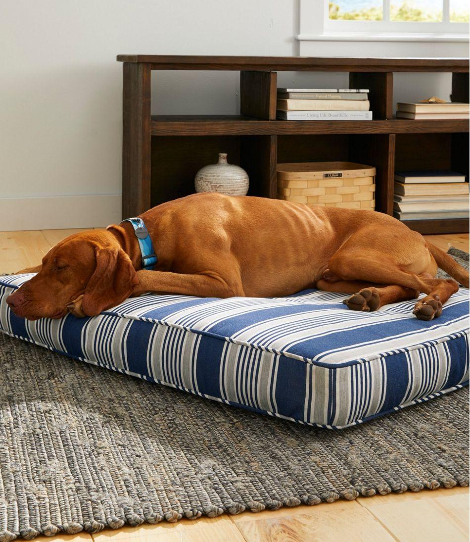 Sunbrella Dog Bed Cover Stripe Large