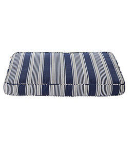 Sunbrella Dog Bed Cover Stripe Large