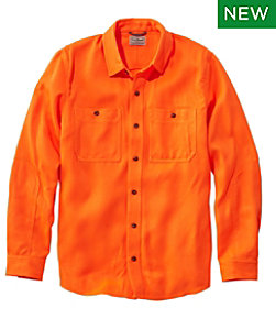 Double L Field Shirt, Hunter Orange