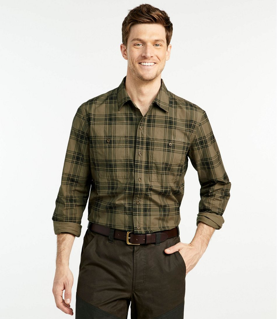 Double L Field Shirt, Plaid