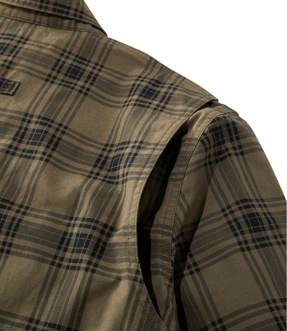 Men's Double L Field Shirt, Plaid