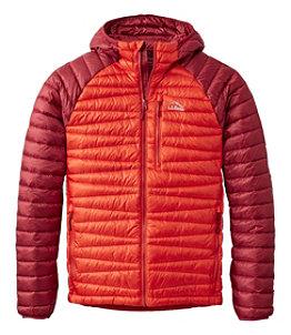 Men's Ultralight 850 Hooded Down Sweater, Colorblock