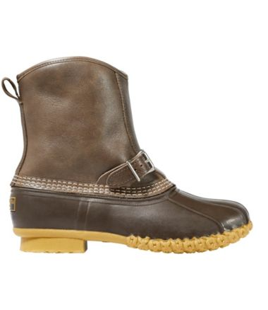 "Men's Limited-Edition Luxe L.L.Bean Boots, 9"" Shearling Lounger"