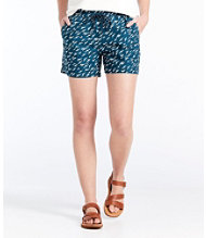 Signature Pull-on Shorts, Print