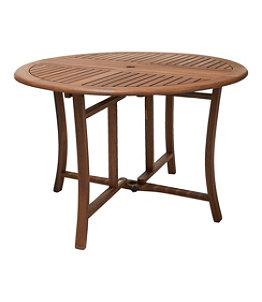 Eucalyptus Folding Table, Round