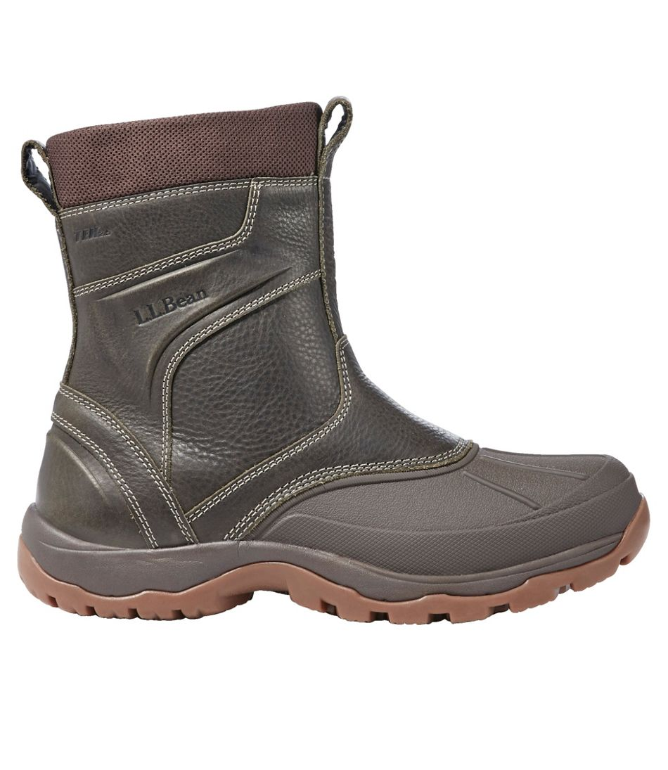 Men's Storm Chaser Boots 5, Pull-On Zip