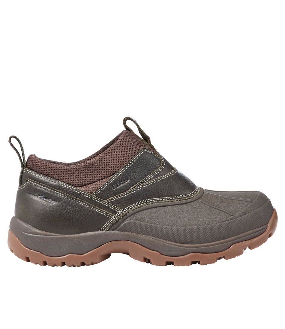 Men's Storm Chaser Slip-Ons, Leather