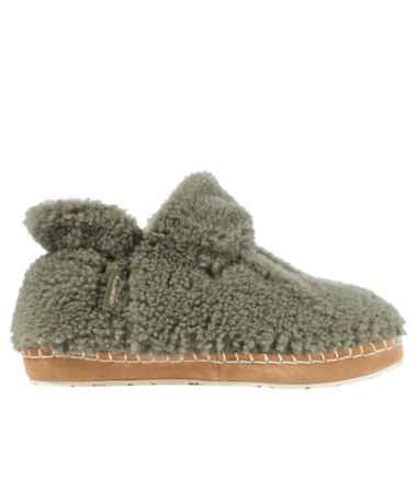 Women's Cozy Slipper Booties, Pile Fleece