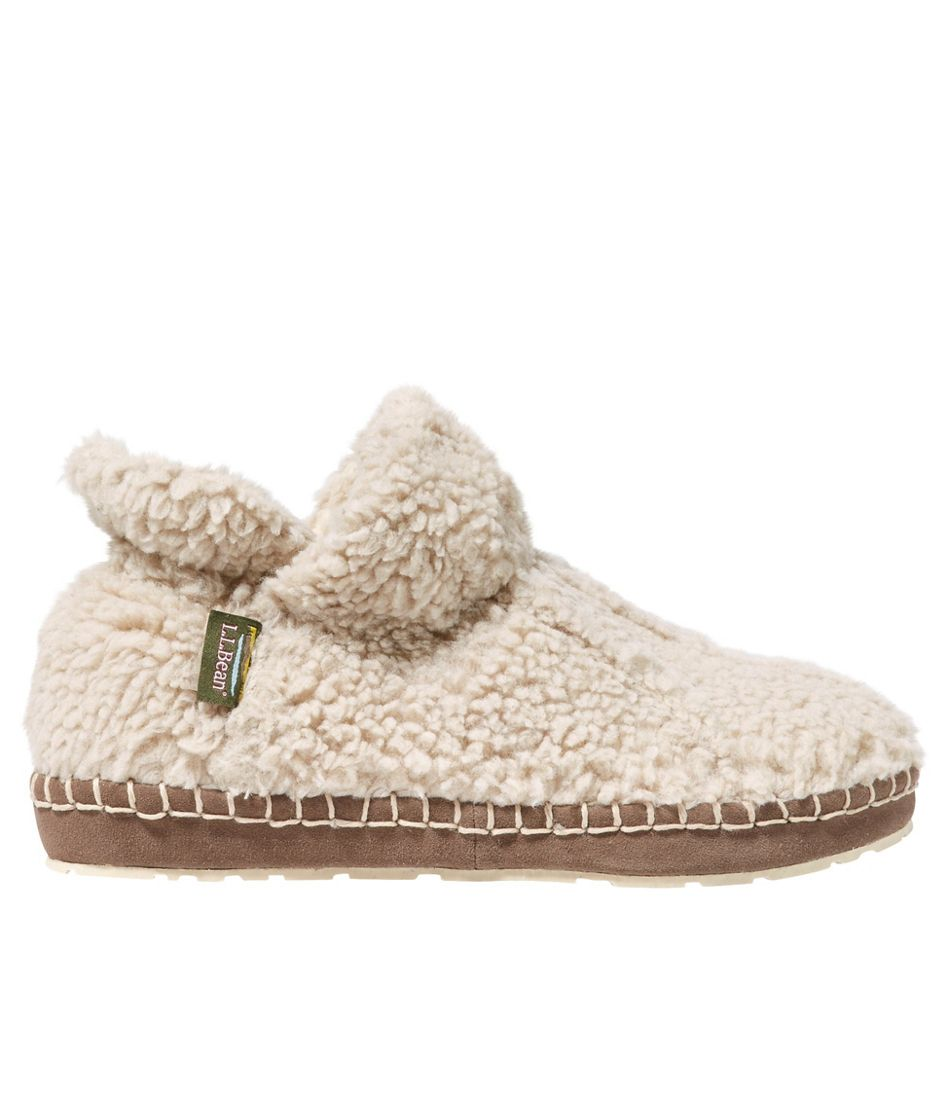 Women's Cozy Slipper Booties, Pile Fleece