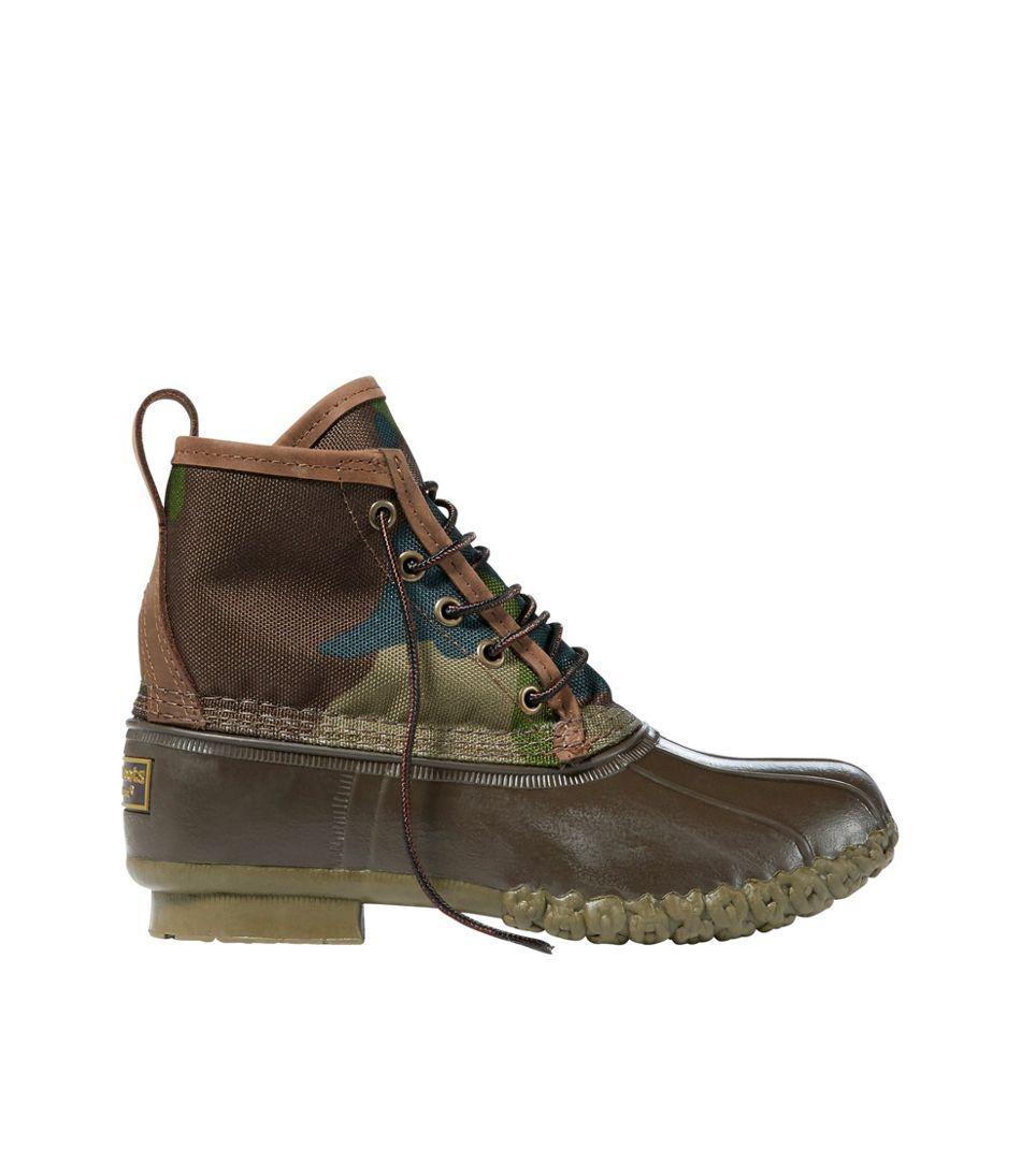"""Kids' Bean Boots, 6"""" Camo"""