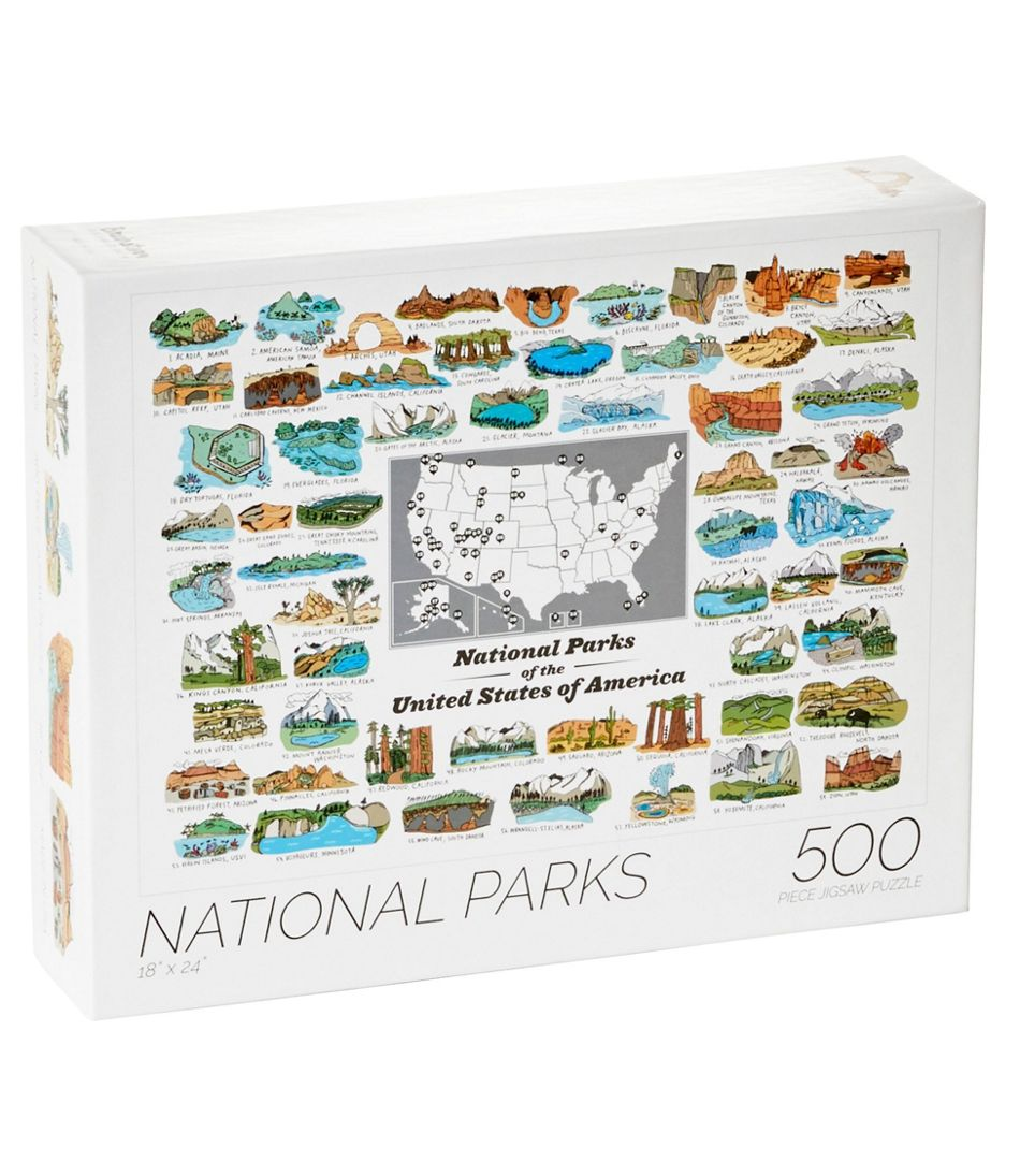 National Parks Puzzle 500 Pieces