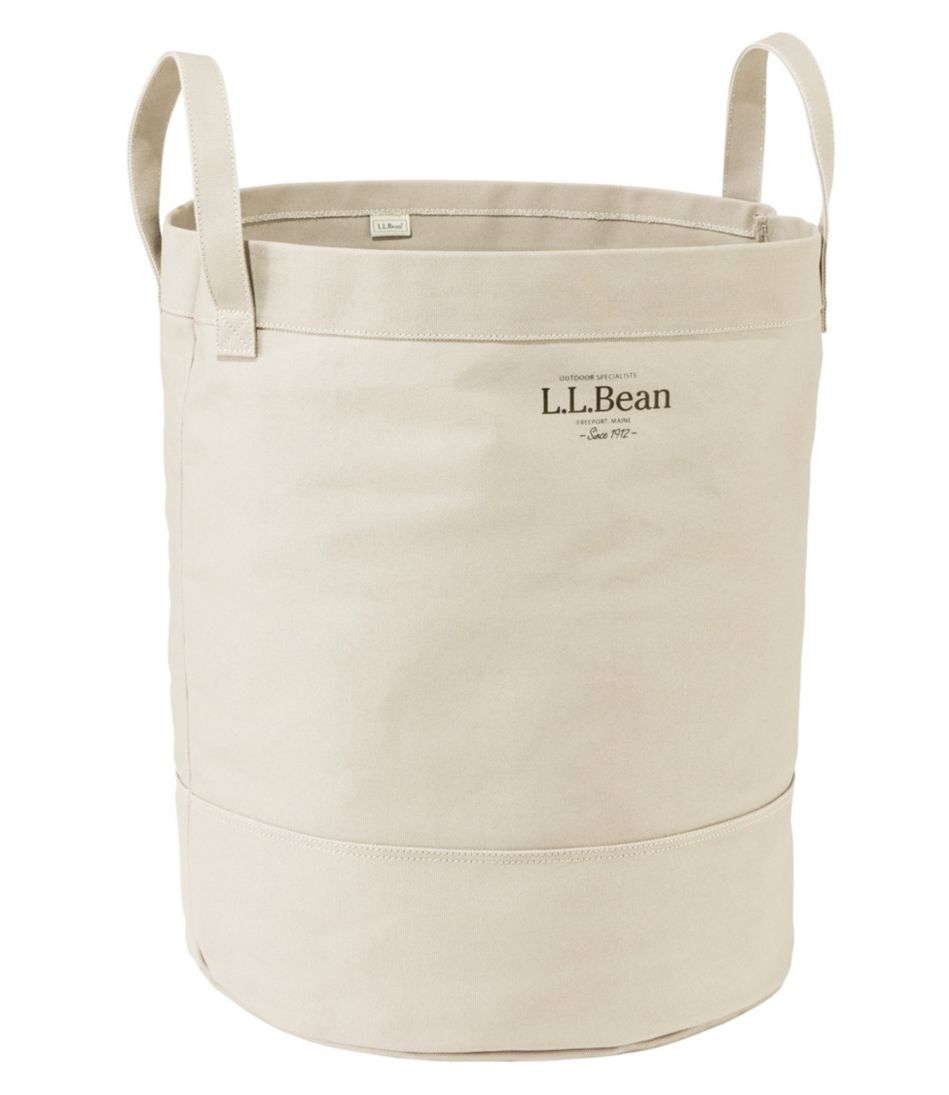 Canvas Laundry Storage Tote