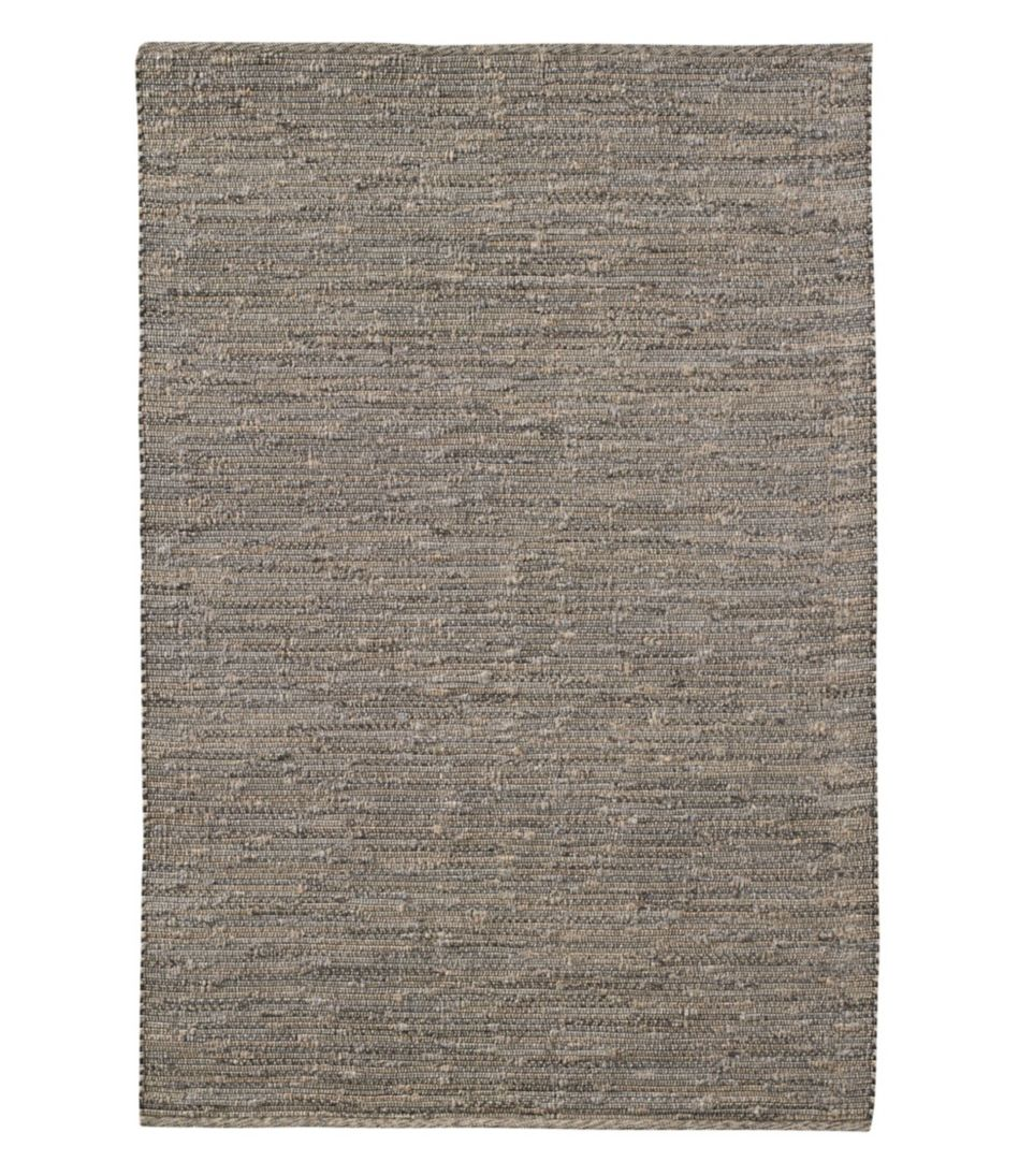 Indoor/Outdoor Textured Stripe Rug, Gray Multi