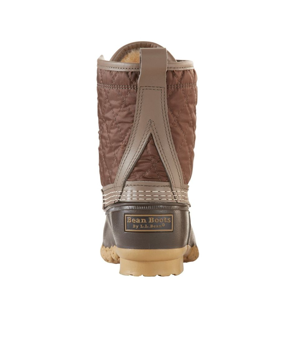 "Women's Limited-Edition L.L.Bean Boots, 8"" Shearling-Lined"