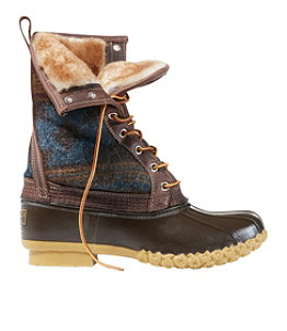 "Women's Bean Boots, 10"" Shearling-Lined"
