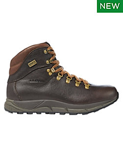 Men's Alpine Hiking Boots, Leather
