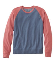 Lakewashed Reverse Terry Sweatshirt, Colorblock