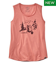 Women's L.L.Bean Camp Tank Top, Graphic