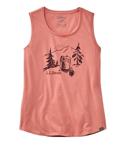 L.L.Bean Camp Tank Top, Graphic