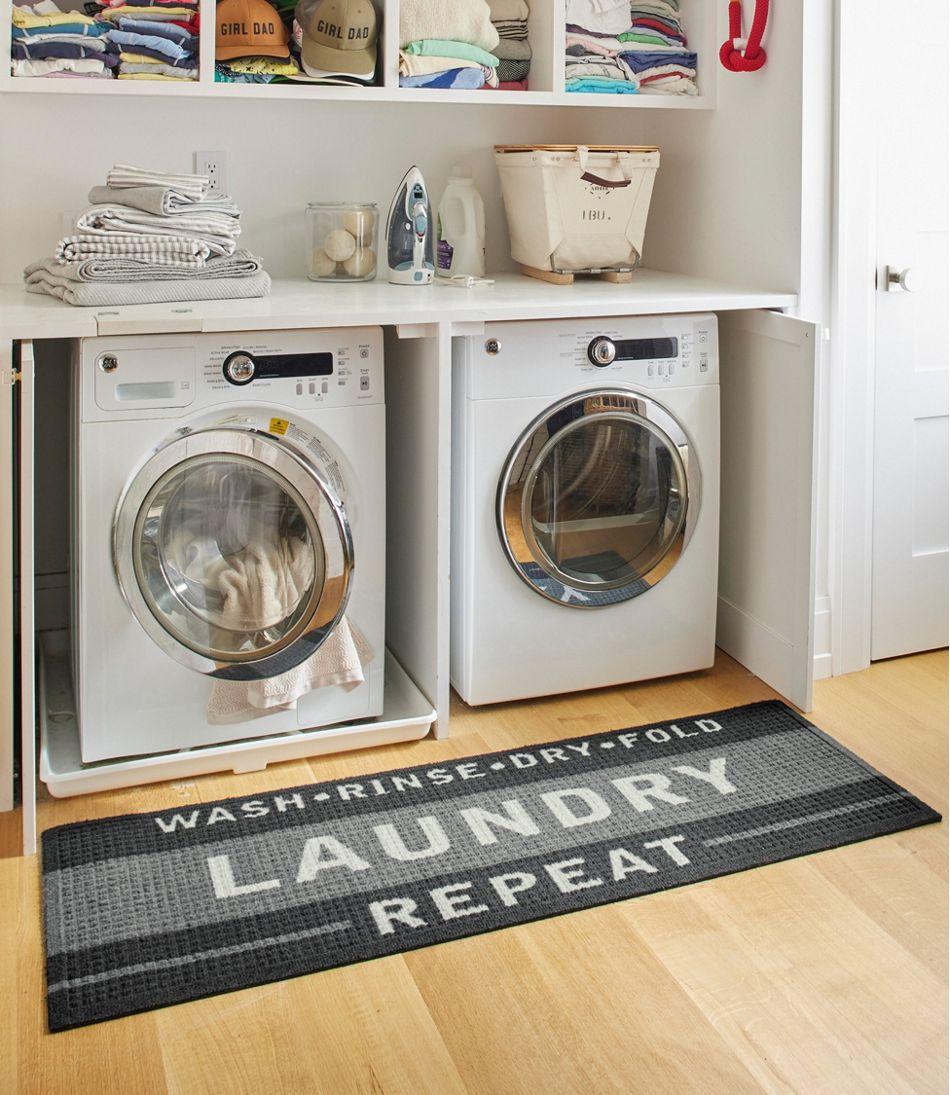 Heavyweight Recycled Waterhog Laundry Room Mat Runner