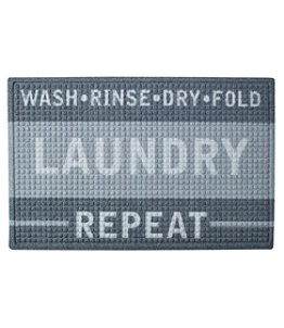 Heavyweight Recycled Waterhog Laundry Room Mat