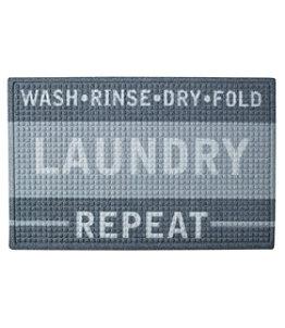 Heavyweight Recycled Waterhog Laundry Room Mat