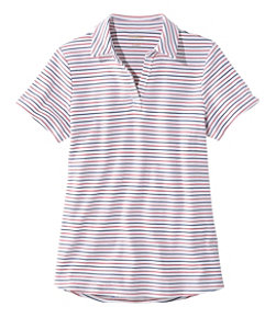 L.L.Bean Polo, Short-Sleeve Stripe