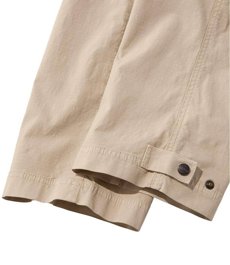 Stretch Ripstop Pull-On Capri Pants