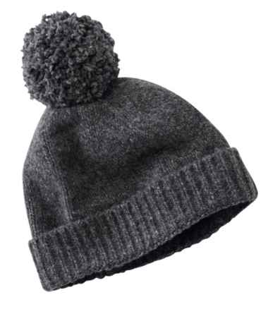 Women's Ragg Wool Pom Hat