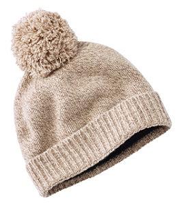 Women's Ragg Wool Pom Hat