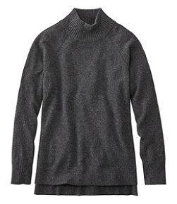 Women's Classic Cashmere Sweater, Mock-Neck Pullover