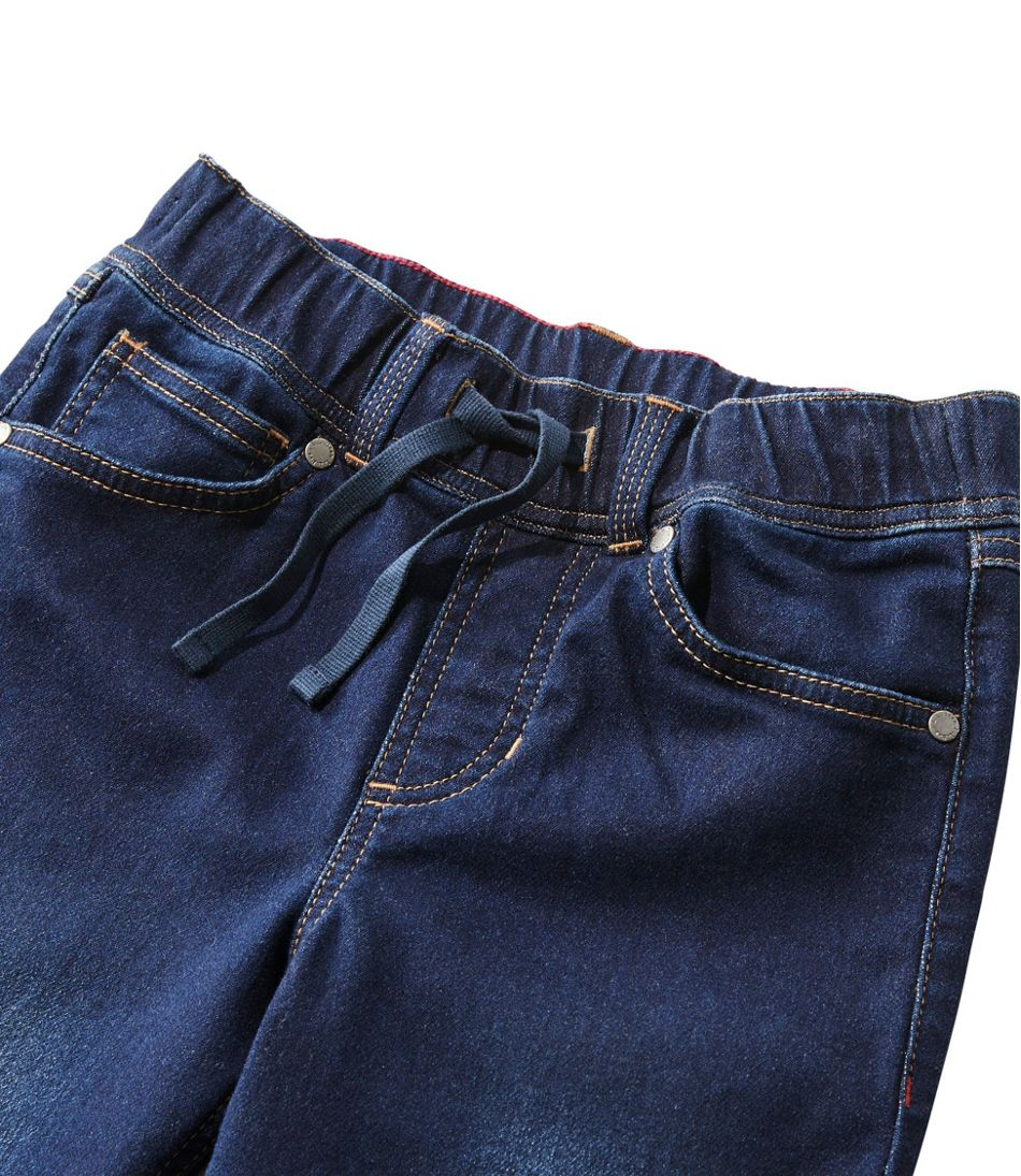 Kids' L.L.Bean Pull-On Stretch Jeans