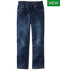 Boys' L.L.Bean Pull-On Stretch Jeans