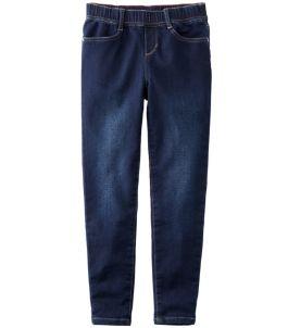 Girls' L.L.Bean Pull-On Stretch Jeans
