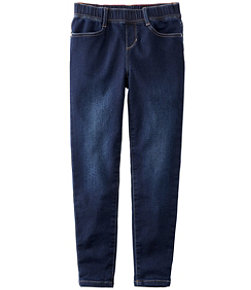 Girls' L.L.Bean Pull-On Stretch Jeans
