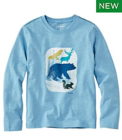 Kids' Graphic Tee, Long Sleeve