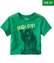 Infants' and Toddlers' Graphic Tee, Short Sleeve